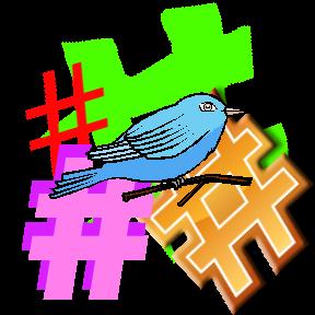 Twitter Hashtags by Marji Laine