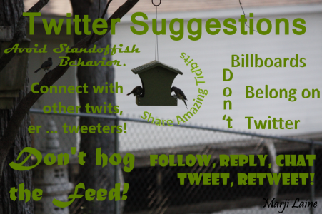 Twitter hashtags can help collect follows and followers. Tweet and retweet wisely.