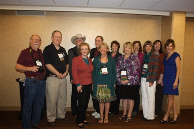 The authors agented by Terry Burns of Hartline Literary Agency are a praying bunch!