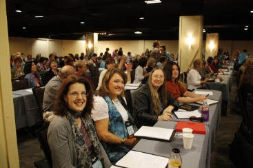 My first workshop at the ACFW conference
