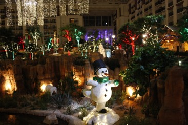 Frosty at the Gaylord Texan