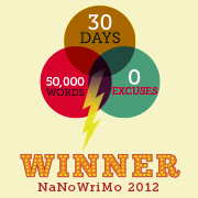 I'm a NaNoWriMo Winner