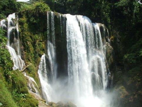 Waterfall in Honduras
