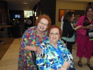Lena Nelson Dooley and her agent, Joyce Hart