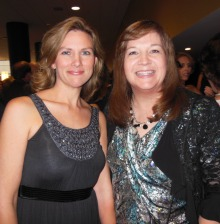 One of my favorite authors! Dani Pettrey and me at the ACFW Gala 2013