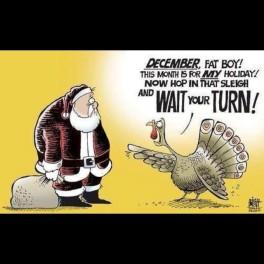 Turkey tells off Santa Claus