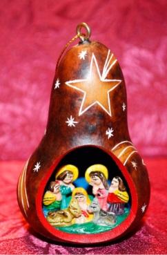 nativity gourd