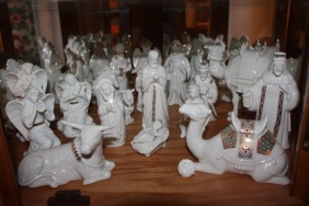 nativity porcelan