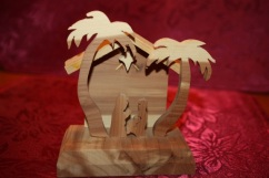 nativity woodgrain