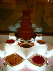 ADA chocolate fountain