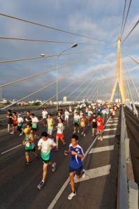 Mara insists on running a marathon