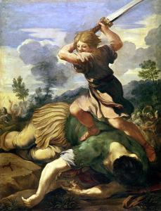 David Kills Goliath by Cortano