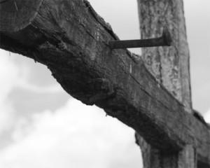 cross w nail