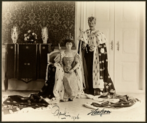 King Haakon and Queen Maud in 1906