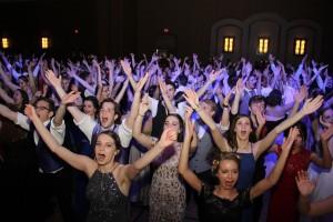 quarter dance floor